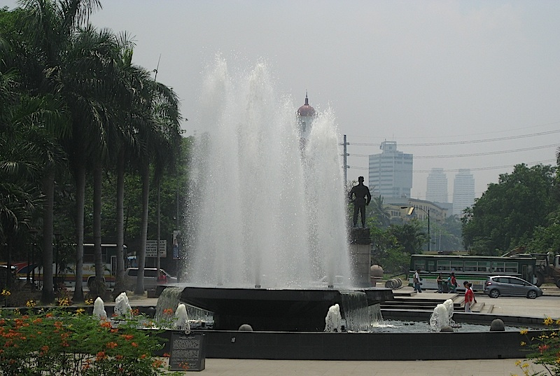 fountain of Liwasang Bonifacio