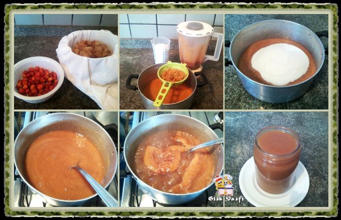 Geleia de pitanga e de maçã 2