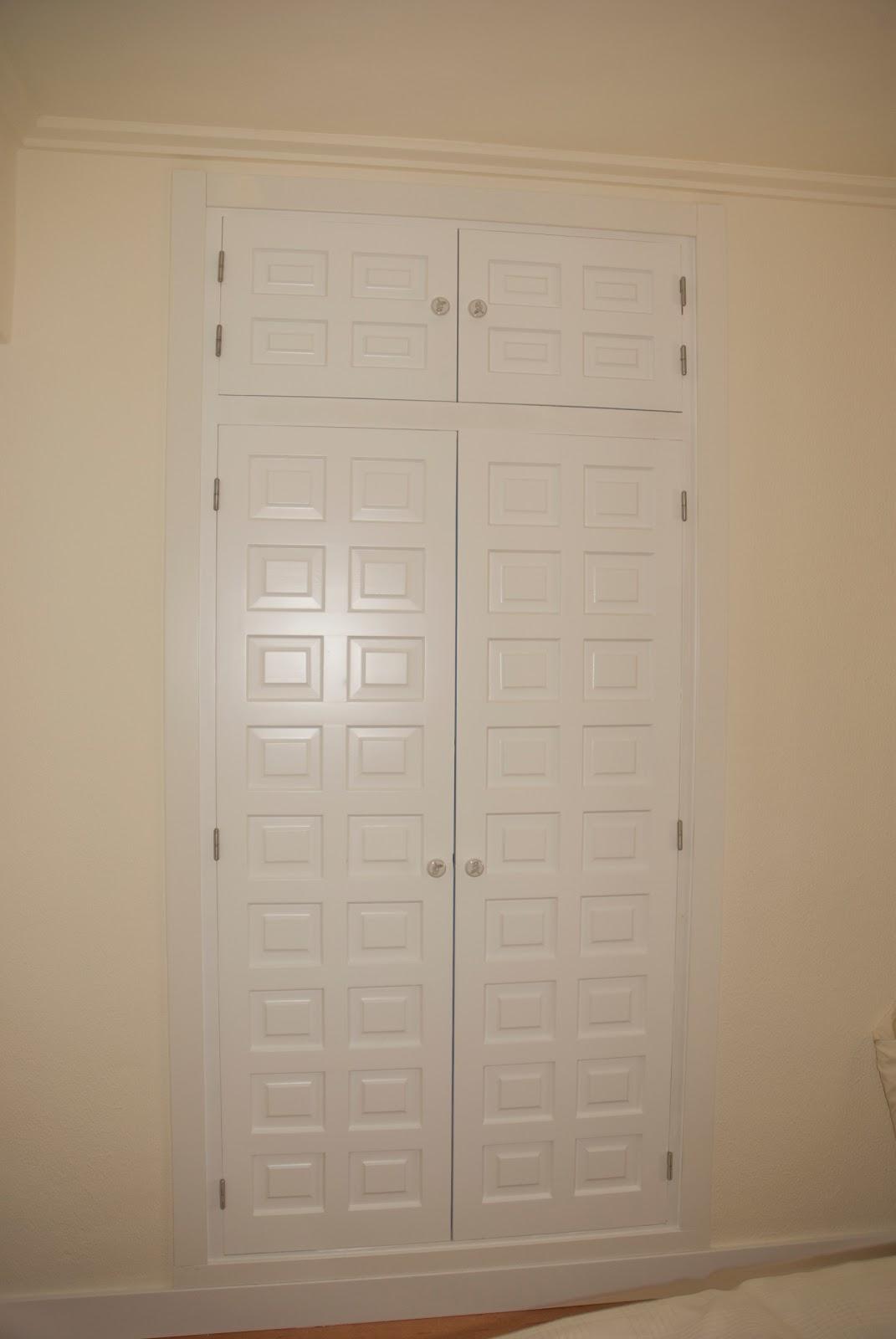 Caballito de cart n cambio aspecto puertas armario - Cambio de puertas ...
