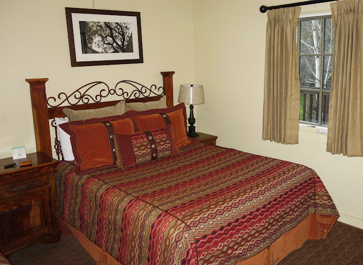 Our room at Holman Ranch