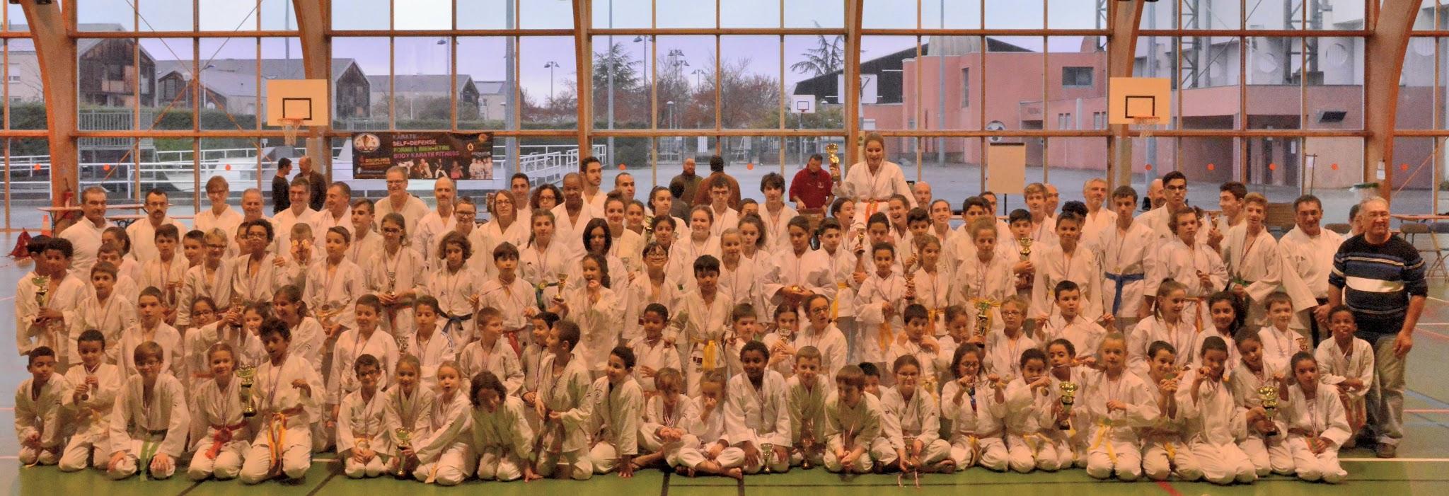Coupe Régionale FEKAMT, au Karaté Club Corbas le Dimanche 25 Novembre 2018