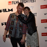 OIC - ENTSIMAGES.COM - Jason Lei Howden and Sarah Howden at the Film4 Frightfest on Saturday    of  Deathgasm   UK Film Premiere at the Vue West End in London on the 29th August 2015. Photo Mobis Photos/OIC 0203 174 1069