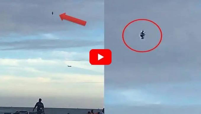 EUA, Florida, um enorme objeto misterioso aparece nas praias de Fort Lauderdale