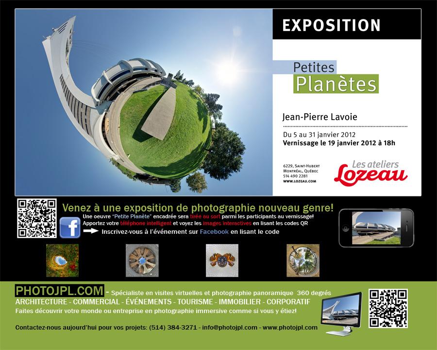 Exposition de photographie - Petites Planètes de Jean-Pierre Lavoie