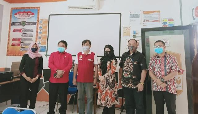 Kunjungi KPU Kapuas, Ketua DPRD Kalteng Ingatkan Protokol Kesehatan