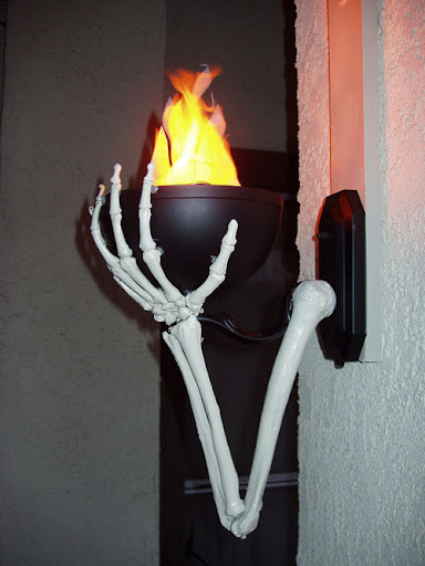 Flame Lamp Blazing Sconce Flame Light Wall Mount Torch