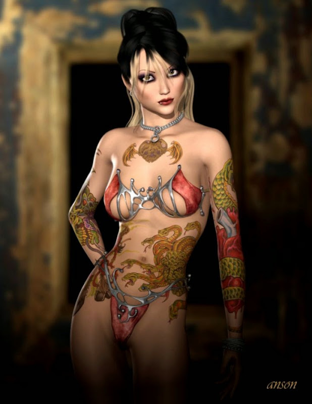 Body Art by anson7 on DeviantArt