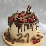 Strawberry and raspberry chocolate drip cake 4.jpg
