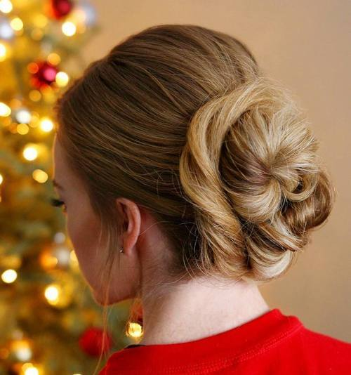 The Trendy Bun Hairstyles For Casual And Formal In Current Year 2017 8