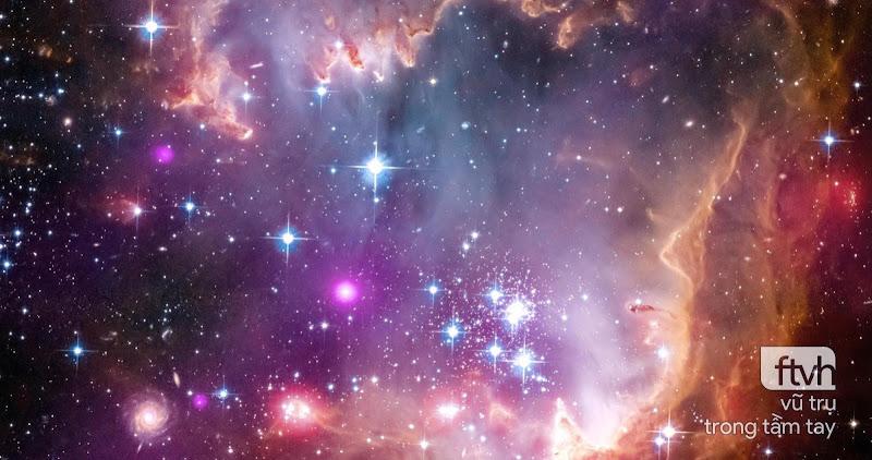 NGC 602 và xa hơn nữa