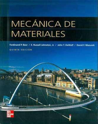 Mecánica de Materiales |5ta Edición| Beer, Ferdinand, Johnston, Russell Gratis en Descarga Directa