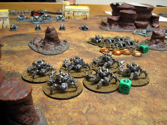 Brad's Defilers get ready for another Pinch Off.