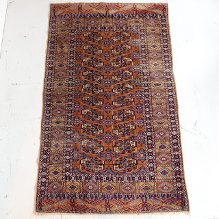 Wool Tribal Area Rug