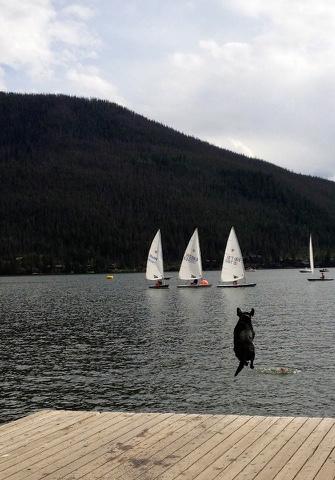 Grand Lake leap 2