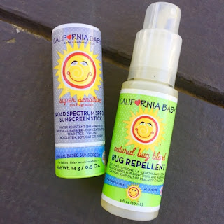 The Daily April N Ava bug repellent sunscreen california baby