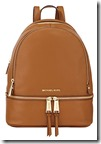 Michael Michael Kors Tan Leather Backpack