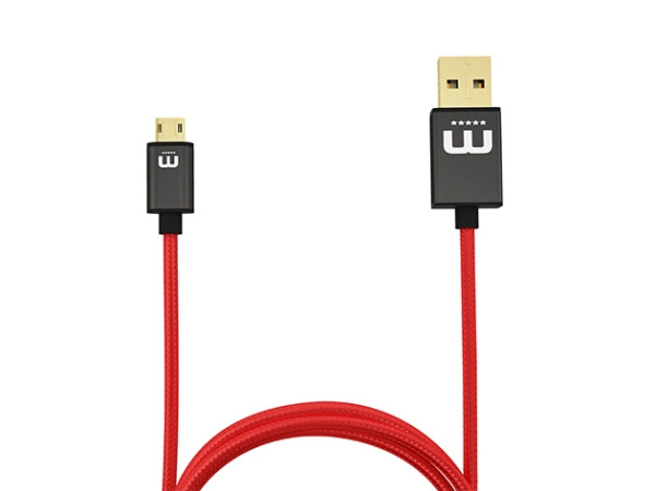 Charge away your smartphone battery with this fully-reversible micro-USB cable 1