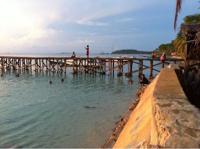 Pantai dan Dermaga Teluk Tamiang