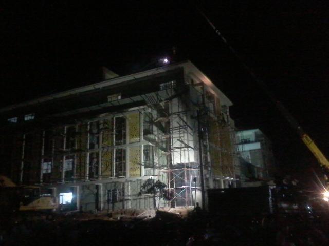 Gedung FTIK proses Pembangunan