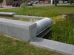 La fontaine 2 mois après son installation