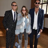 OIC - ENTSIMAGES.COM - Oliver Proudlock, Rosie Fortescue and Hugo Taylor at the  The LFW s/s 2016: Daks - catwalk show  in London 18th September 2015 Photo Mobis Photos/OIC 0203 174 1069
