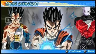 NEW! DBZ TTT ULTIMATE 2 + MENÚ MOD PPSSPP