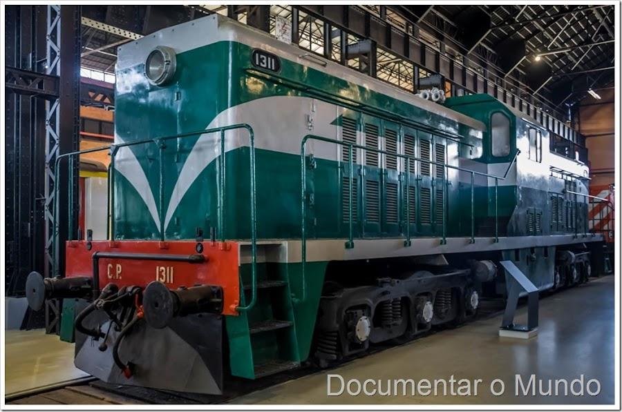 Museu Nacional Ferroviário Entroncamento