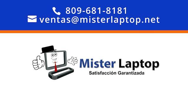 Tienda de Computadoras: MISTER LAPTOP: Santo Domingo