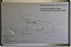les camps rattachés à Dachau