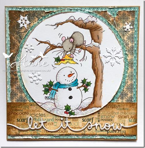 LOTV christmas snowman