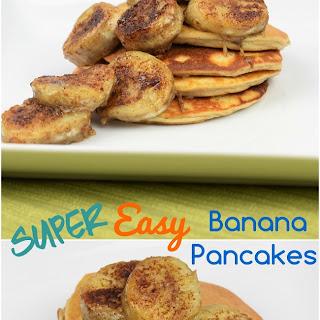Easy Banana Pancakes.