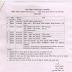 कक्षा 9वी एवं 11वी की वार्षिक परीक्षा की समय सारणी जारी।