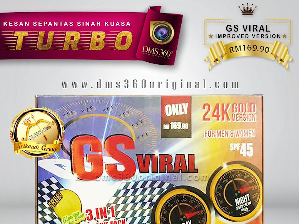 Pre Order GS Viral aka Glowing Speed DMS360 Dibuka