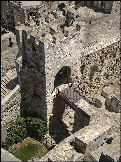 The entrance gate to the Tower of David. Jerusalem, Israel.     #israel #jerusalem #izrael #jerozolima...