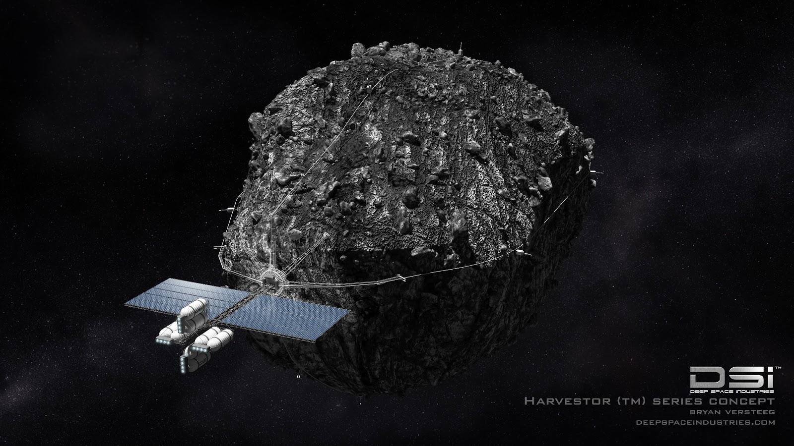 Полезные ископаемые на астероидах добывать будут с помощью микробов