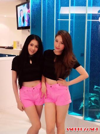 Tuyển chọn những hot girl diện quần ngắn cực khiêu gợi