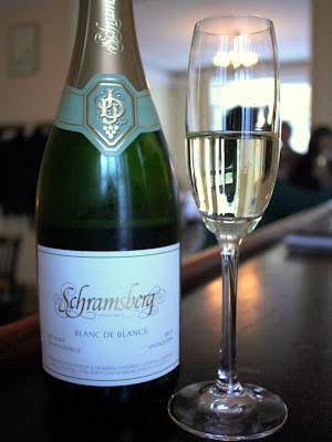 Schramsberg Blanc de Blancs sparkling wine