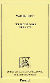 Cover of Marsile Ficine's Book Les Trois Livres De La Vie Or De Vita Libri Tres