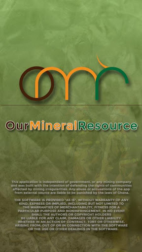 Our Mineral Resource OMR