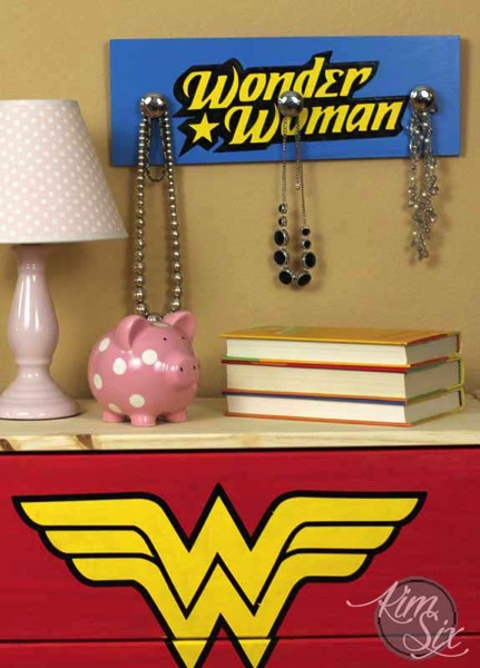 Wonder woman jewlery organizer