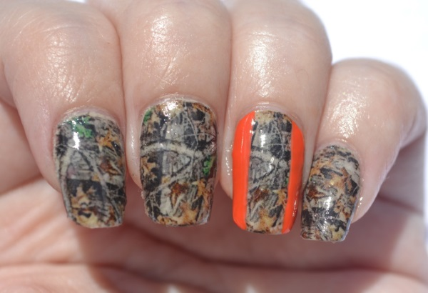 THE BEST CAMOUFLAGE NAIL DESIGNS FOR PRETTY WOMEN 6