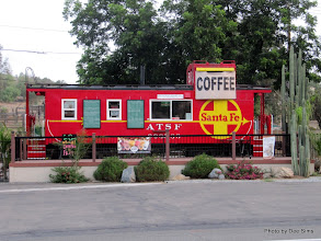 Photo: (Year 3) Day 34 - A Caboose, Which is Now a Coffee House
