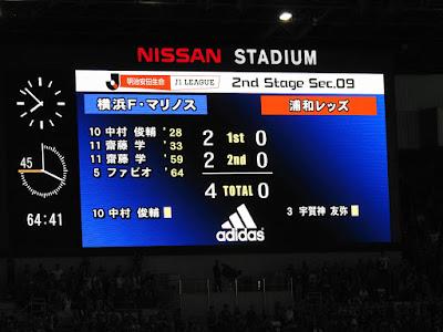 横浜F・マリノス vs 浦和レッズ 4−0
