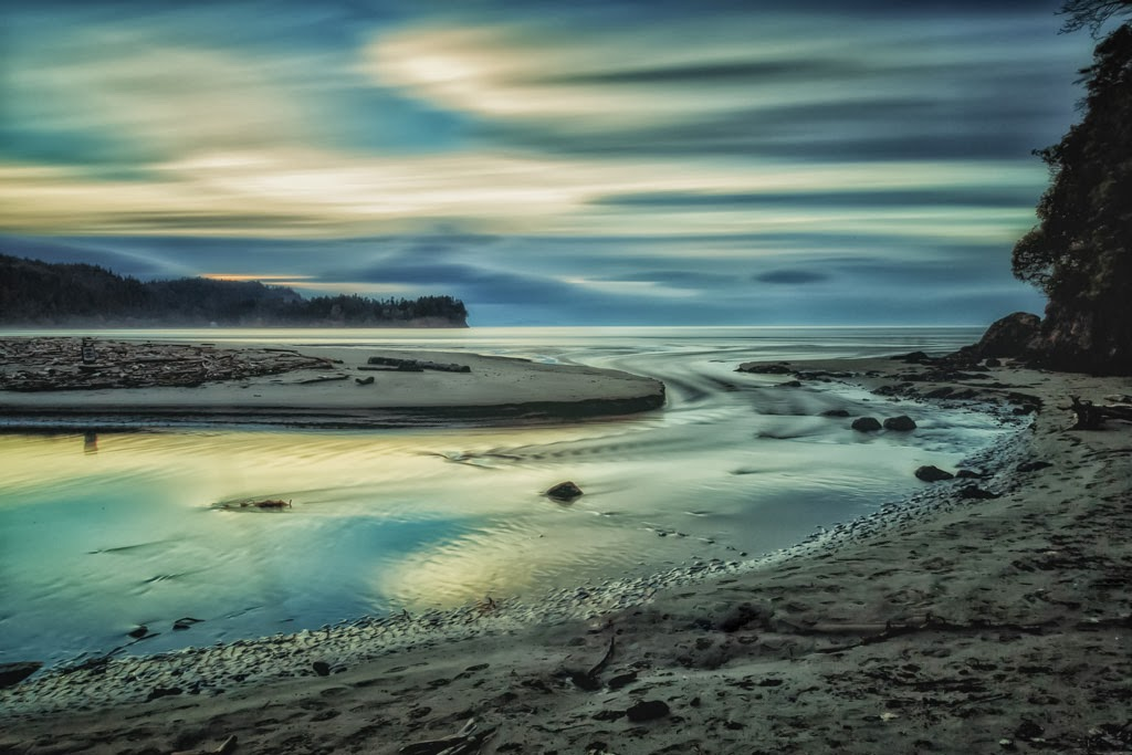 """""""Four Minutes at Salt Creek"""" by Roy Kropp -- 1st Place Print"""