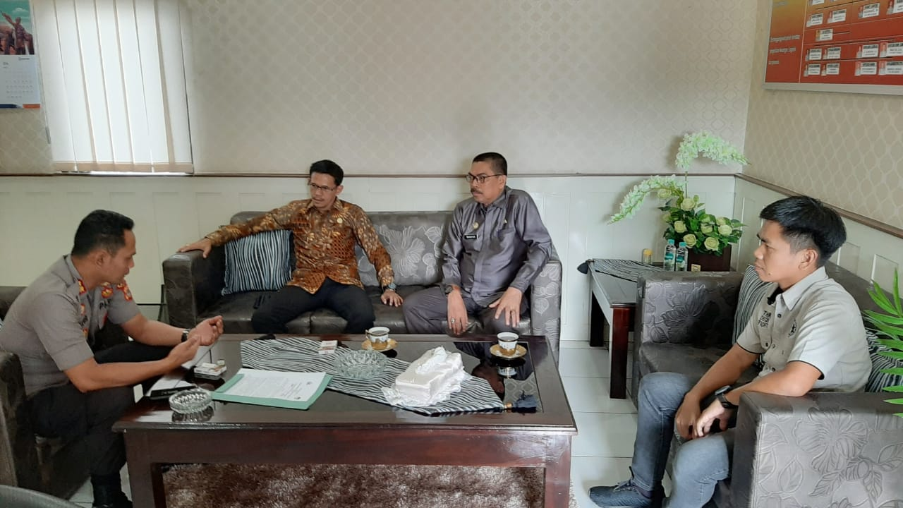 Ketua KPU Soppeng Kunjungi Polres Soppeng