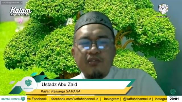 Ustaz Abu Zaid: Pasangan Menyejukkan Pandangan harapan Semua Orang