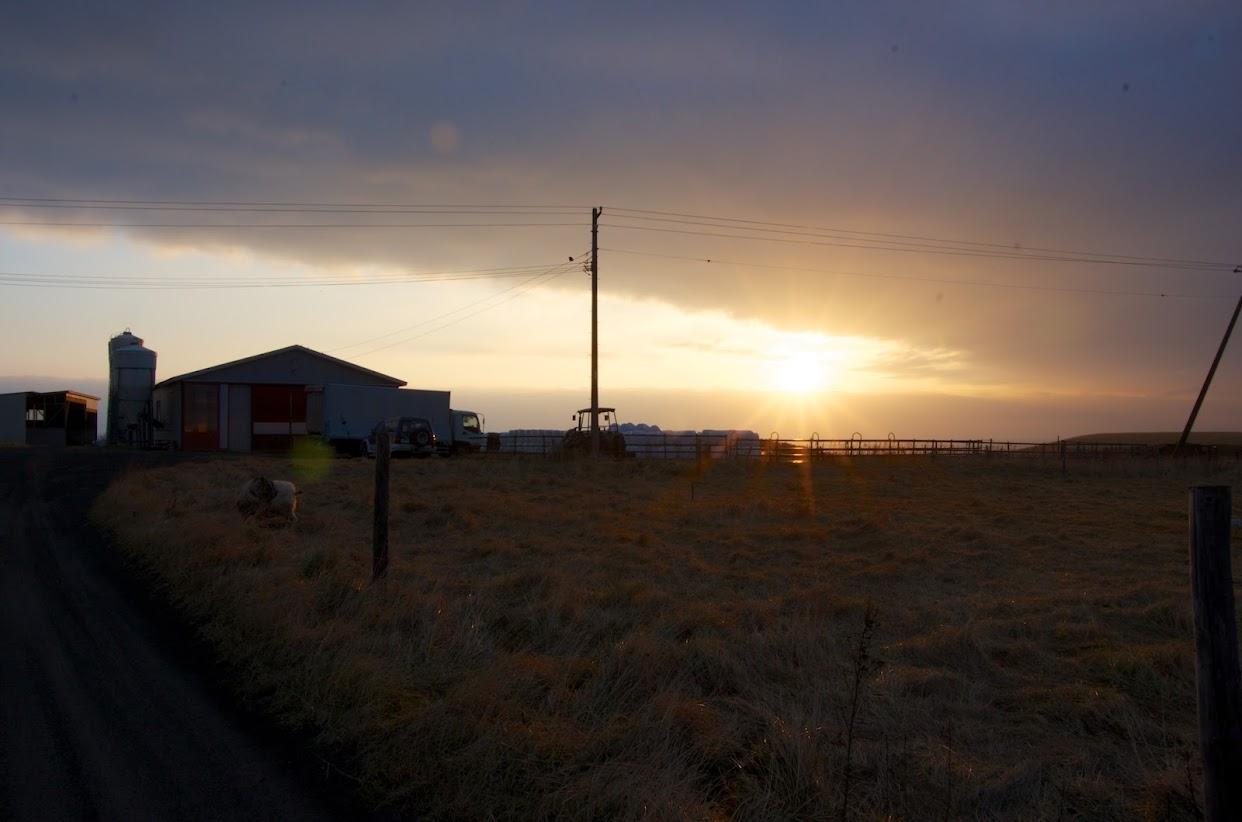 襟裳岬に昇る朝陽「はじめのはじまり」