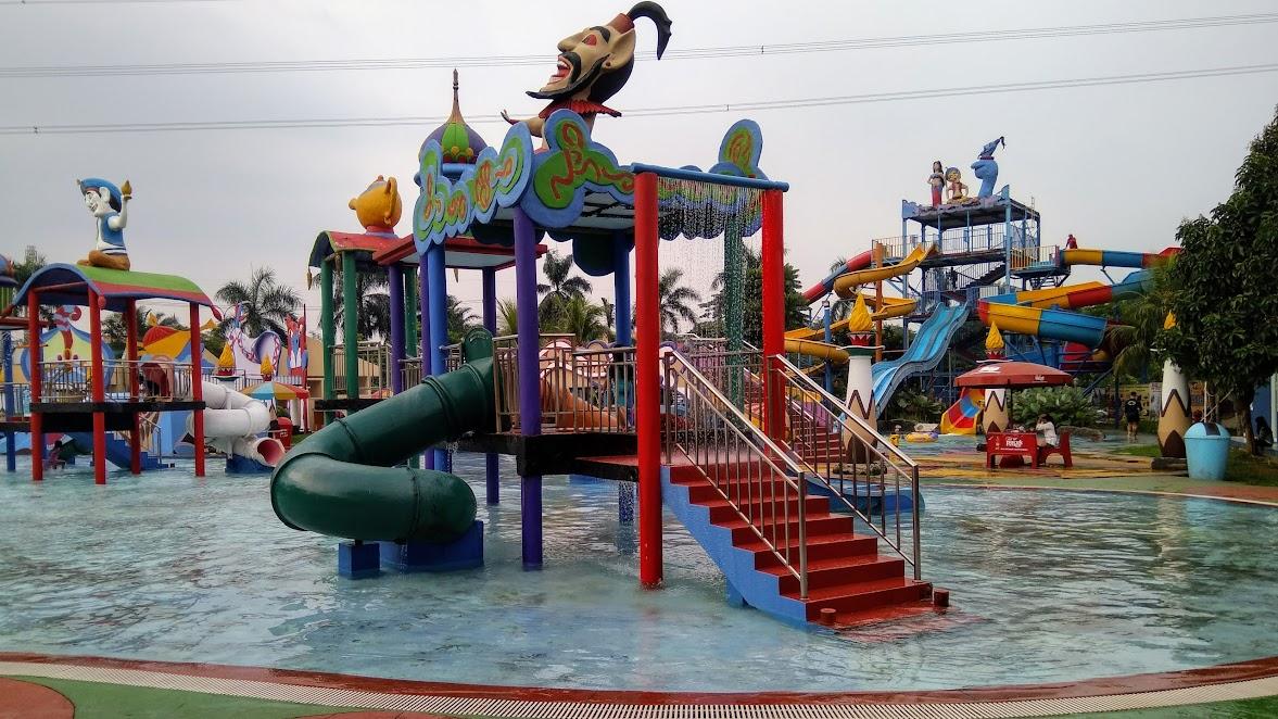 Salah satu sudut Aladdin Depok Fantasy Waterpark