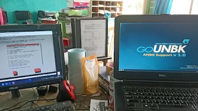 Testing GoUNBK di SMP PUI GEGESIK Kab. Cirebon