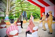 Didampingi Bupati Amran Mahmud dan PLT Gubernur Sulsel, Presiden Jokowi Tinjau Vaksinasi di SMAN 3 Wajo